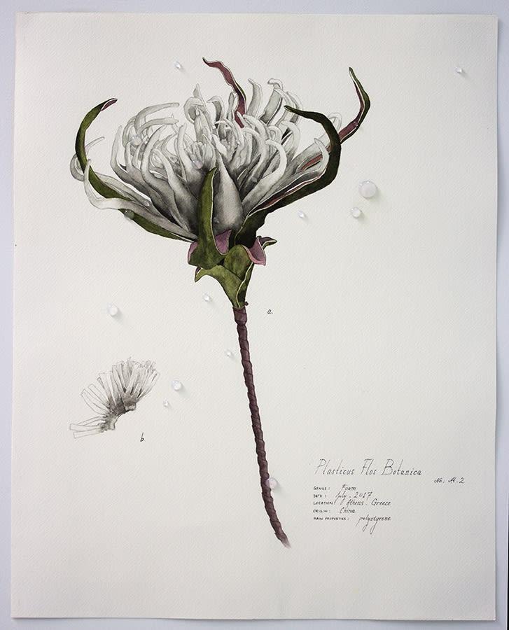 Magdalen Wong, Plasticus Flos Botanica Athens II . 2017 .