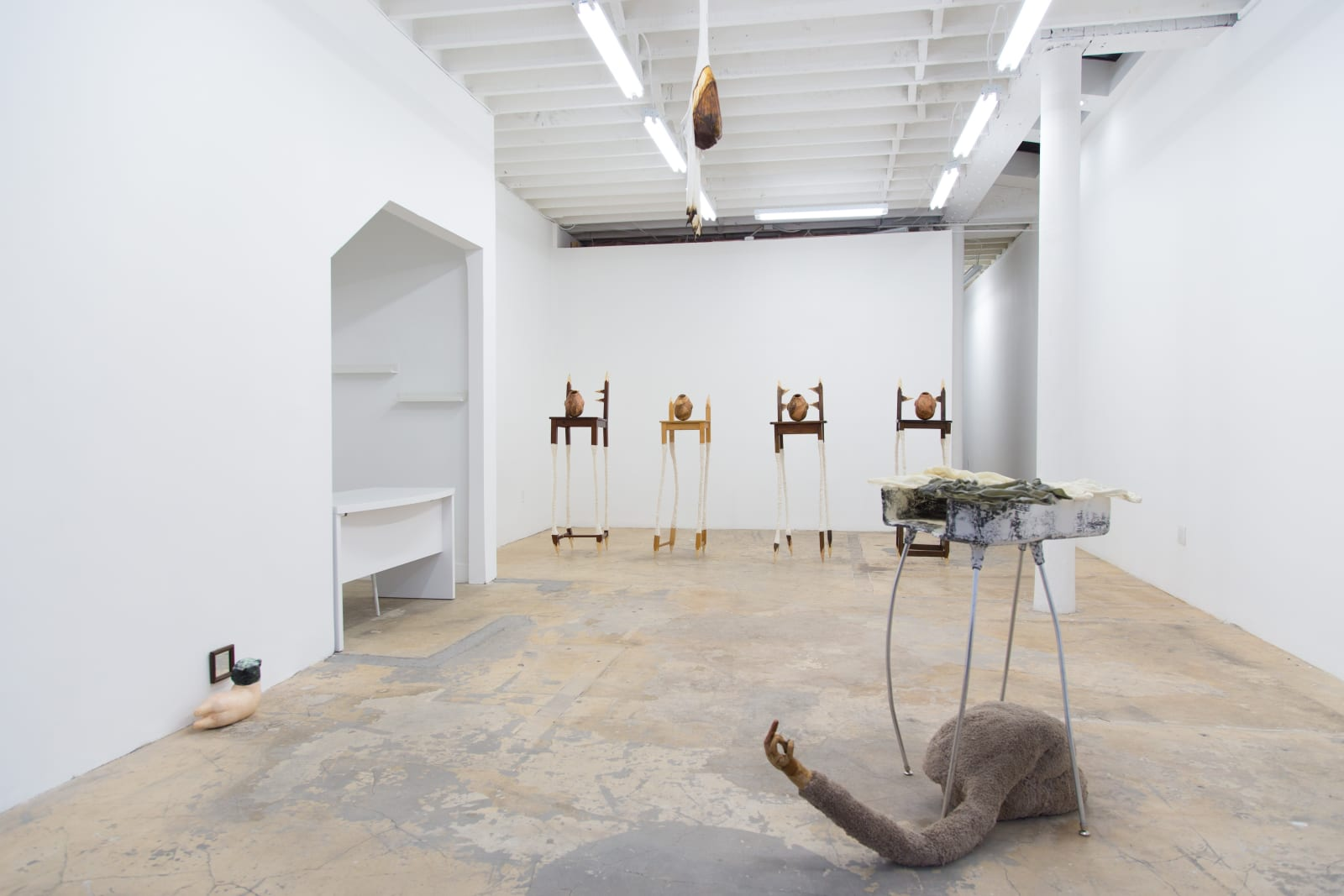 Installation View, marrow. Photo: Yubo Dong