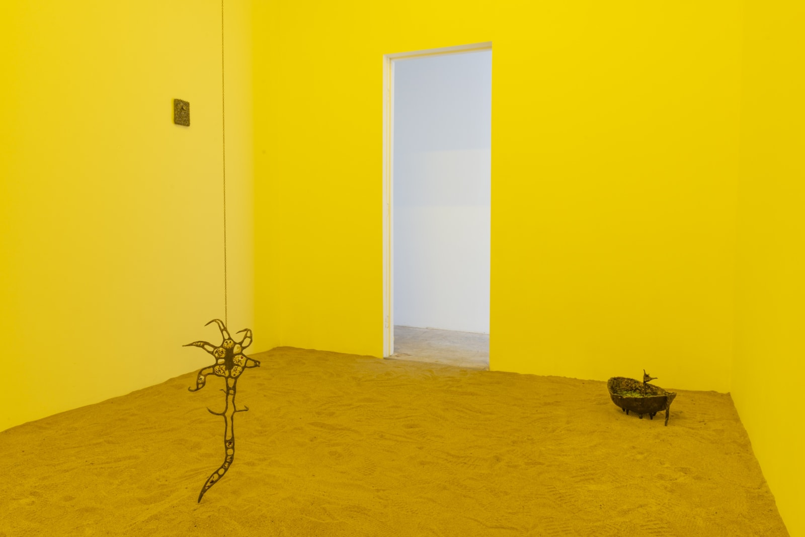 Installation view, Blossoming Carcass. Photo:Yubo Dong