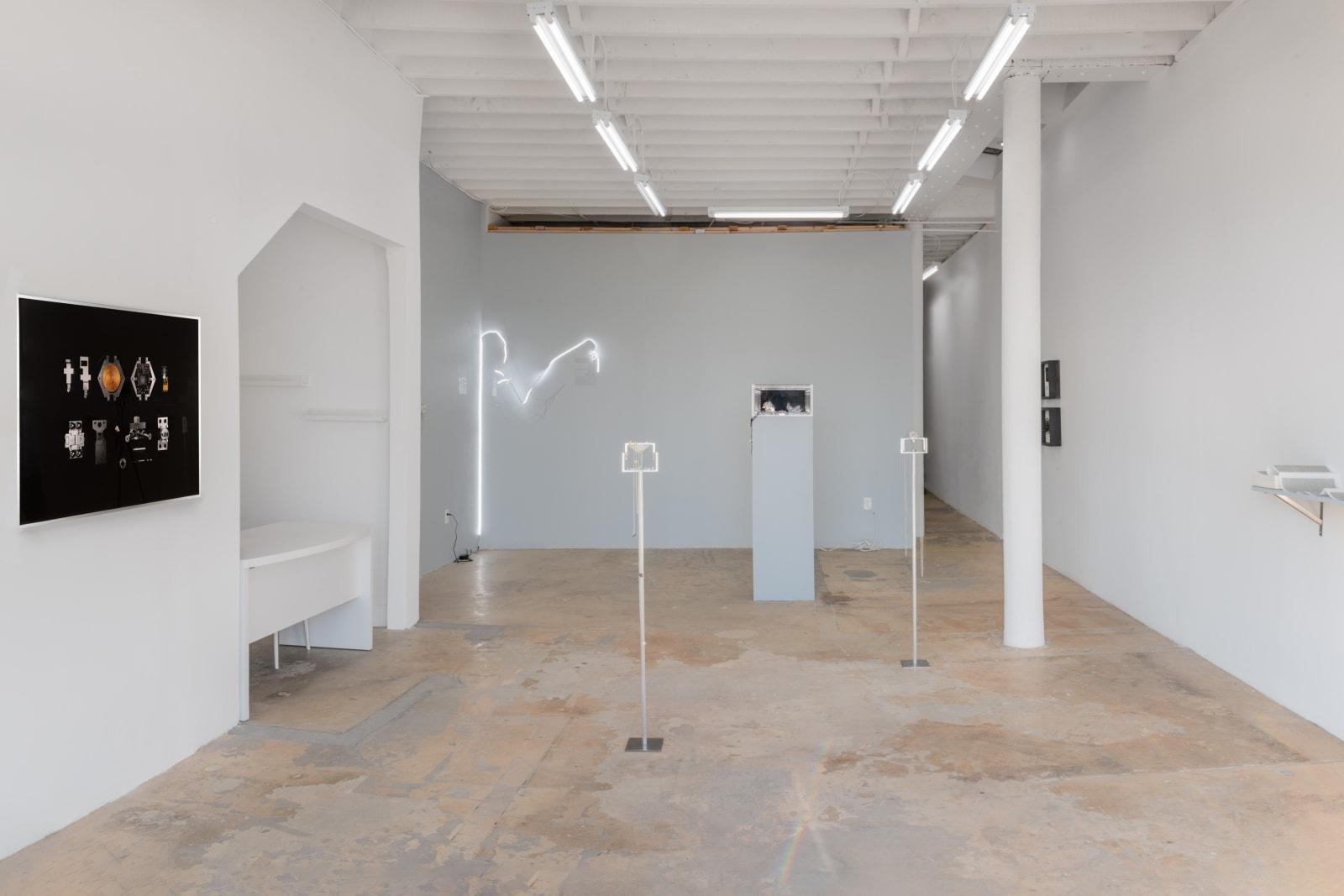 Installation View, Liu Xin: Living Distance, 2019