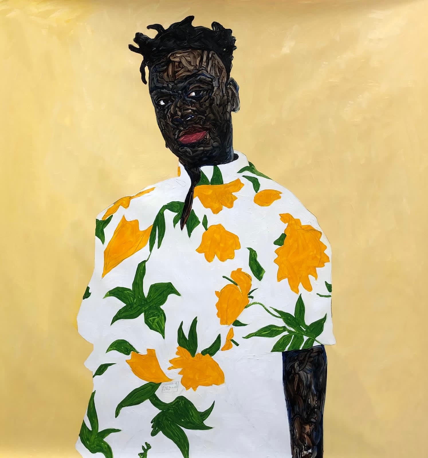 Amoako Boafo biography | Mariane Ibrahim Gallery