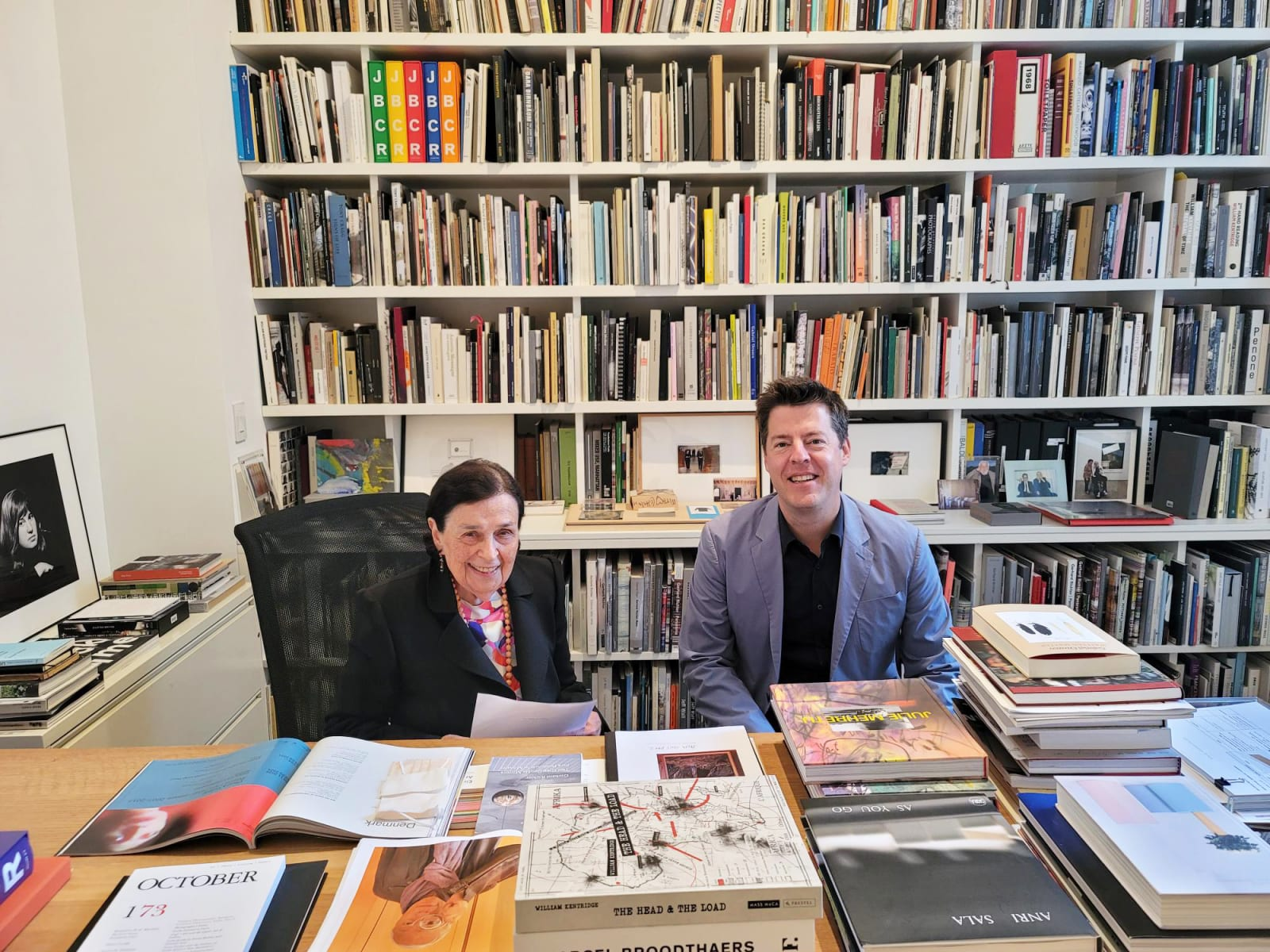 Marian Goodman and Philipp Kaiser