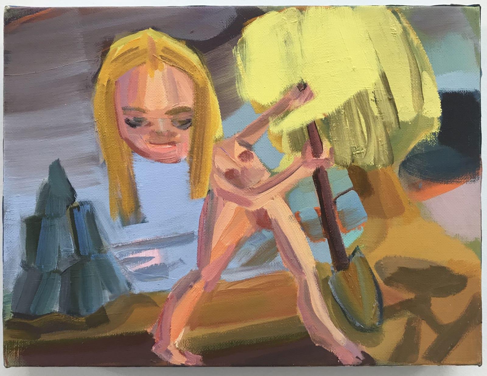 Judith Linhares Study for the Dig, 2018