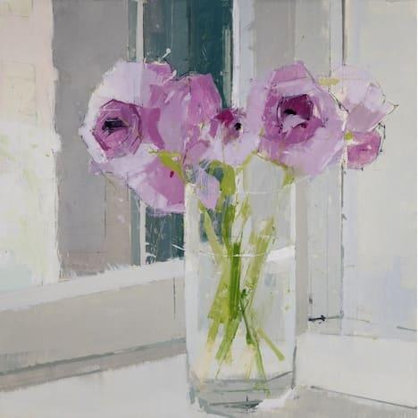 Lisa Breslow Spring in a Chelsea Window