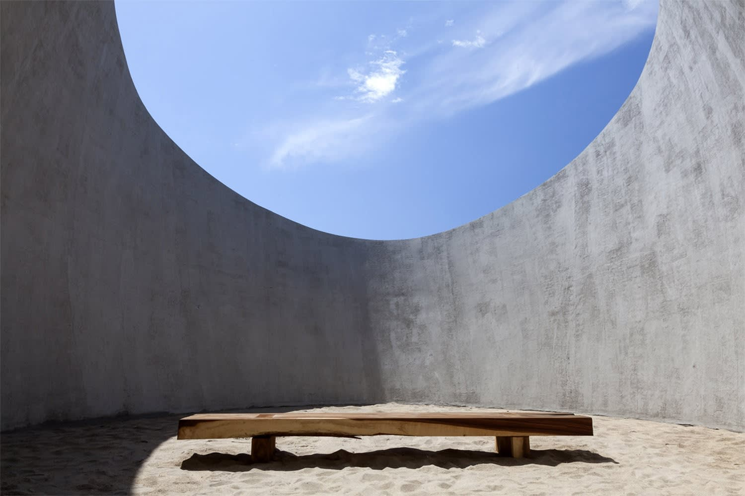 Tadao Ando. The observatory at Casa Wabi. Puerto Escondido, Mexico. Source: Wikicommons