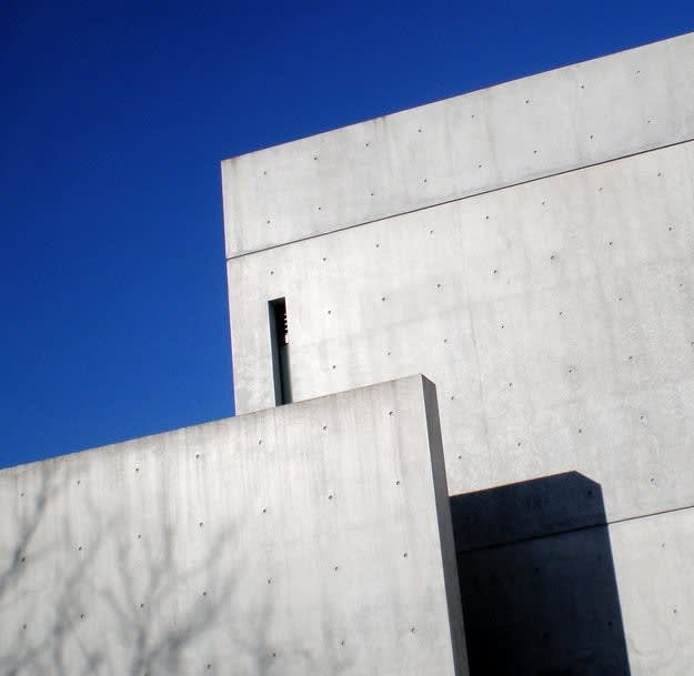 Detail of the Tadao Ando's Pulitzer Museum, St Louis, Mo.; Image credit: Rick Watson.