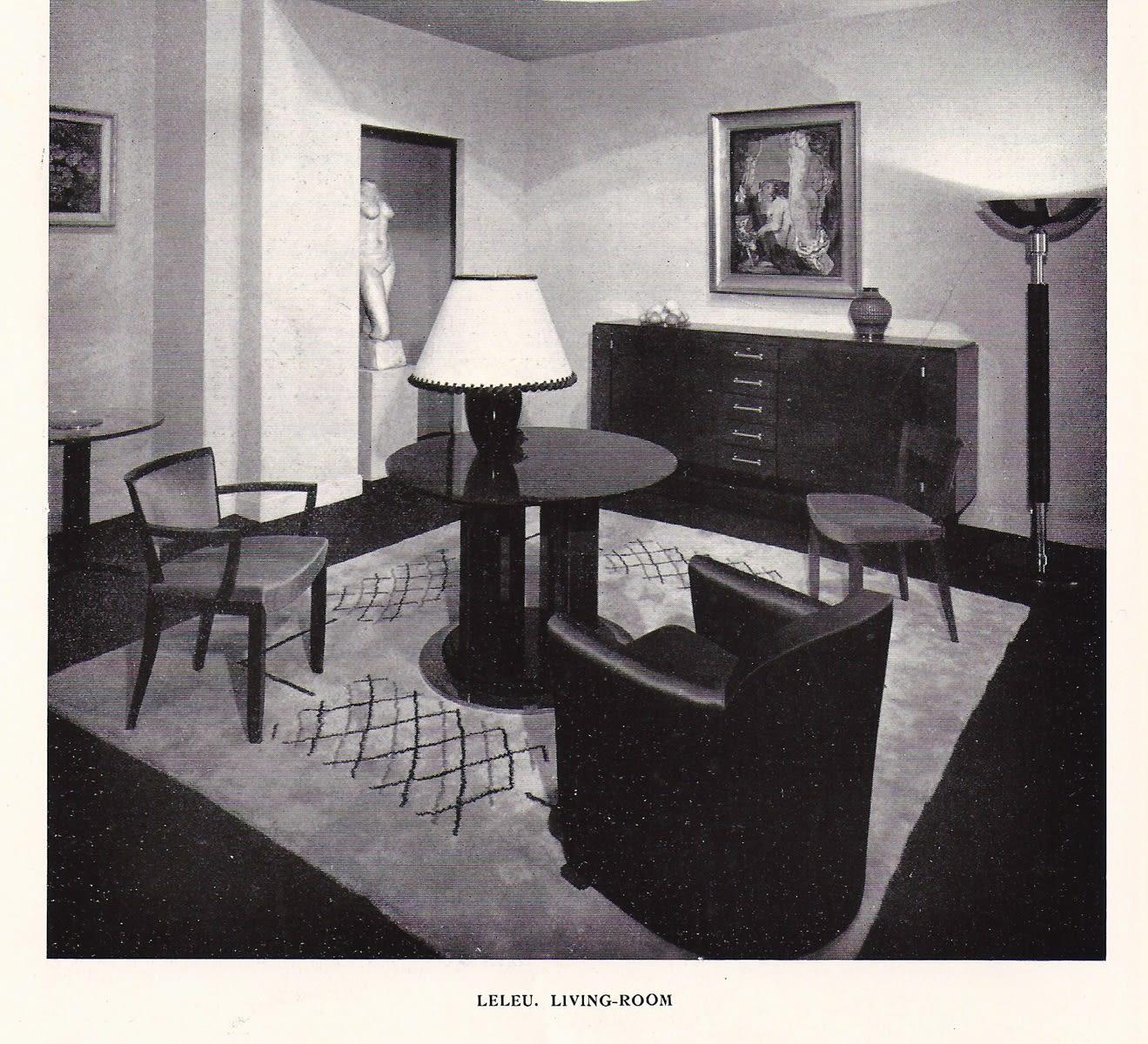 Jules Leleu Paris, 1930