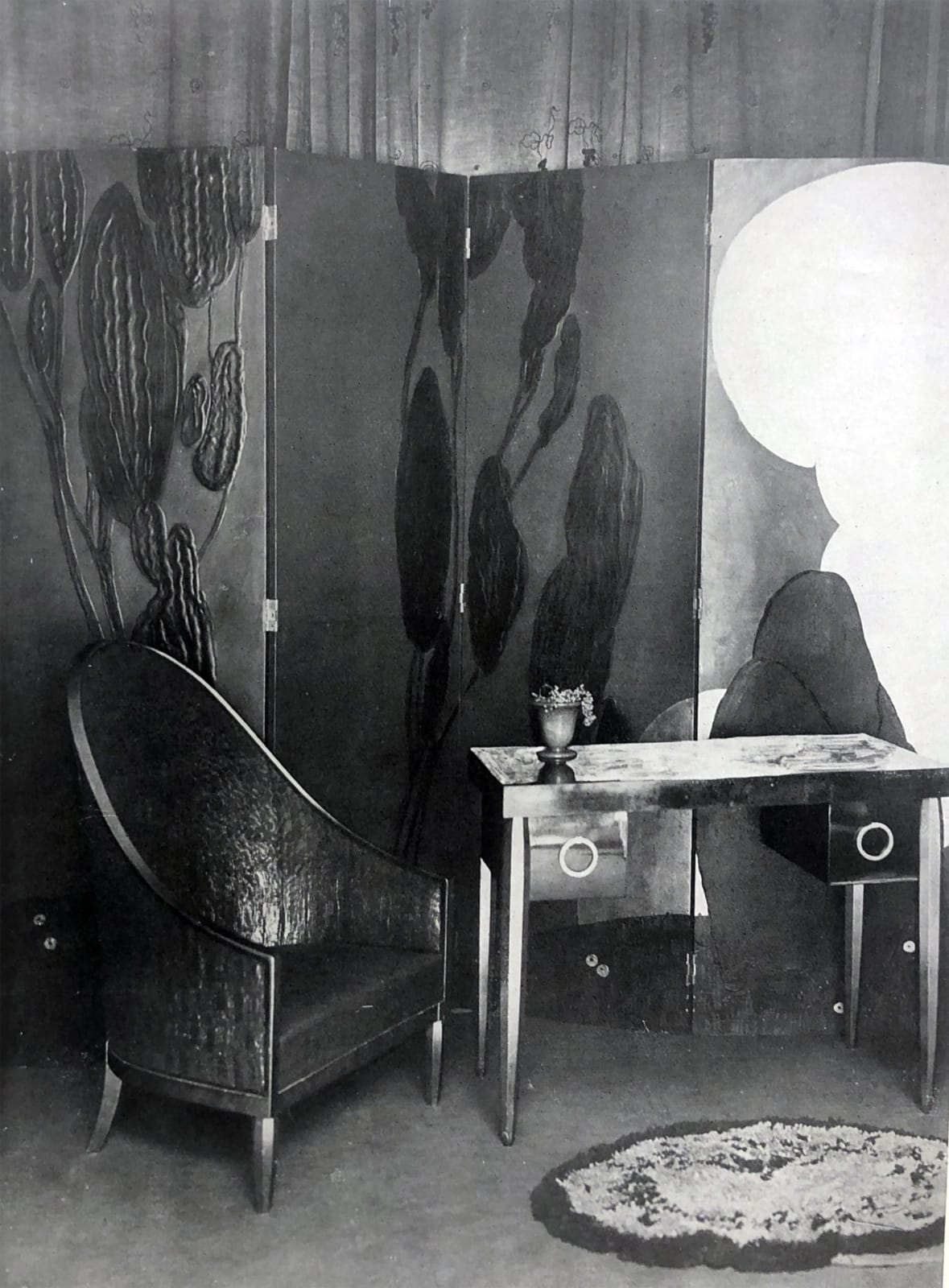 Art Deco furniture by DIM. Paris, 1925