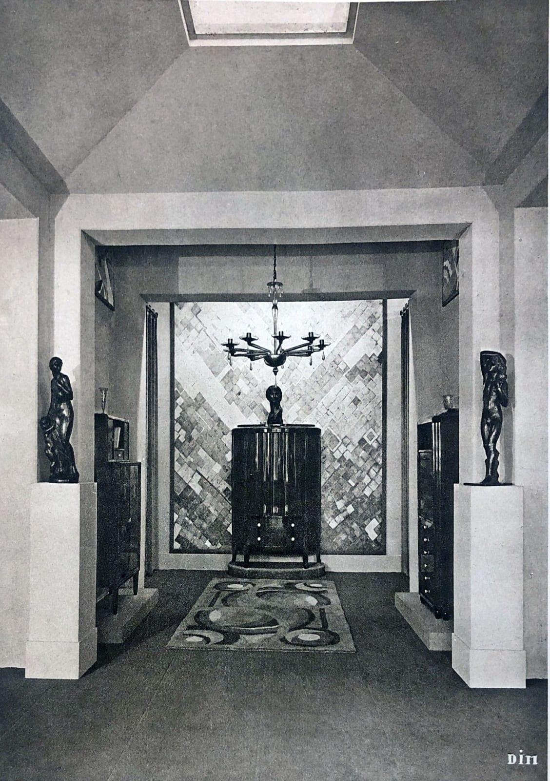 Interior by DIM (Decoration Interieure Moderne) Paris, 1925