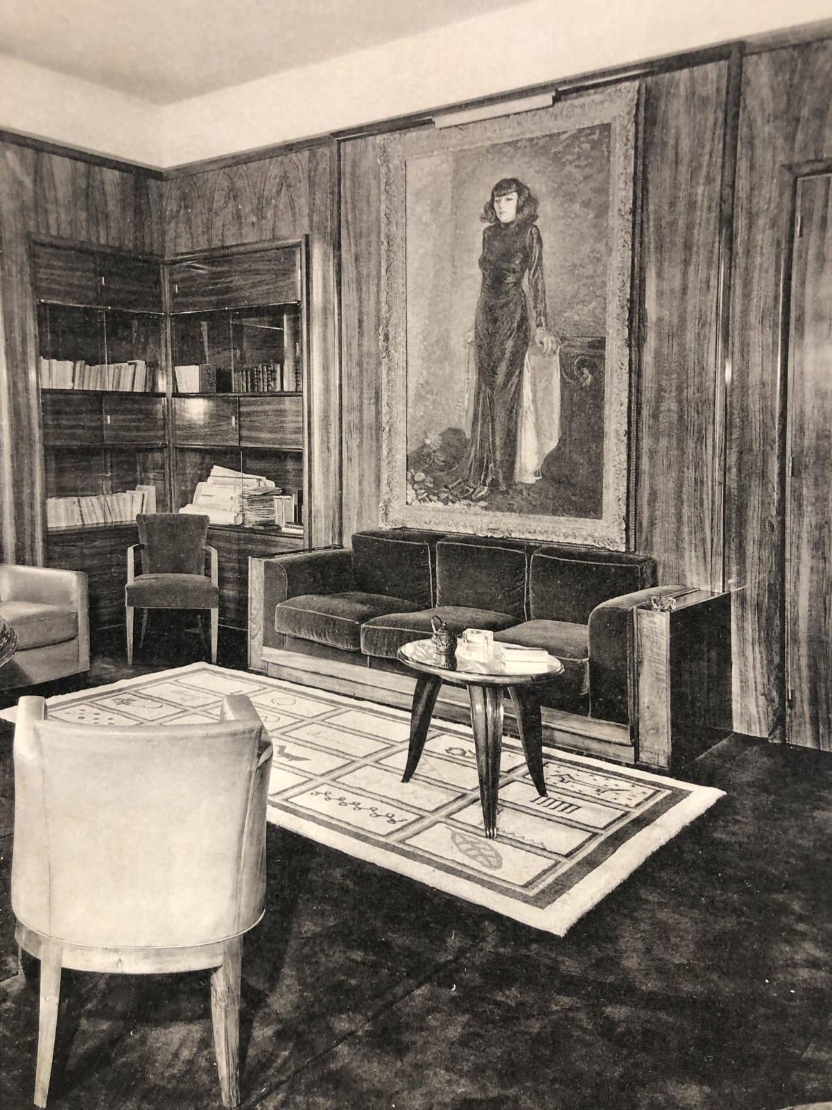 Art Deco Interior Paris, 1933