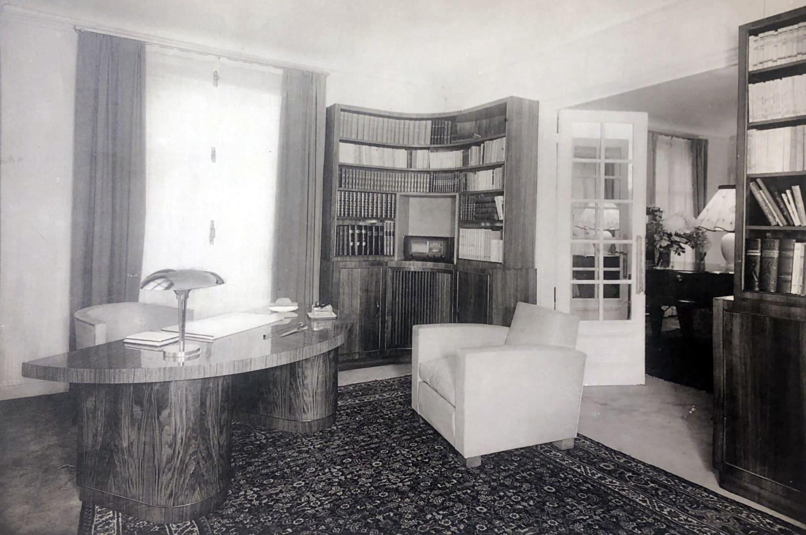 Maurice Rinck Art Deco Office Paris, 1932