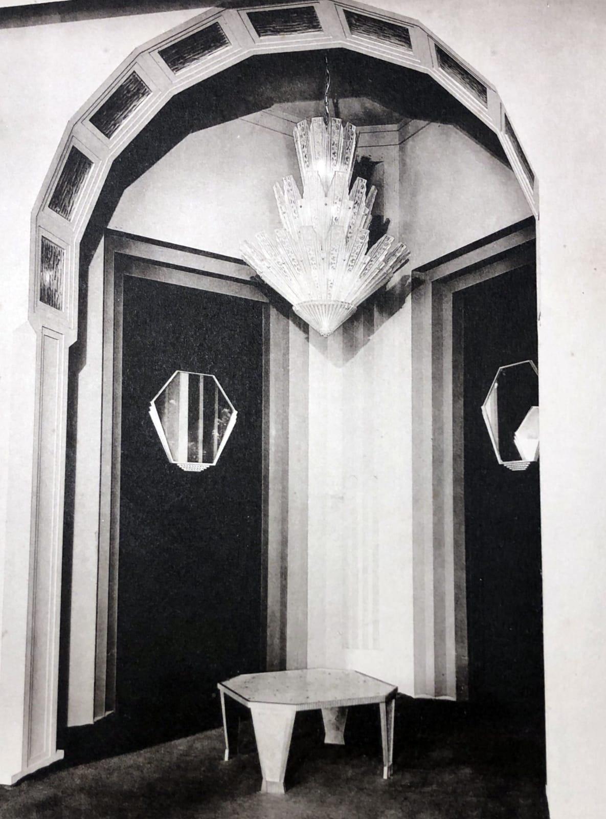 Gran Entrance by Genet et Michon Paris, 1932