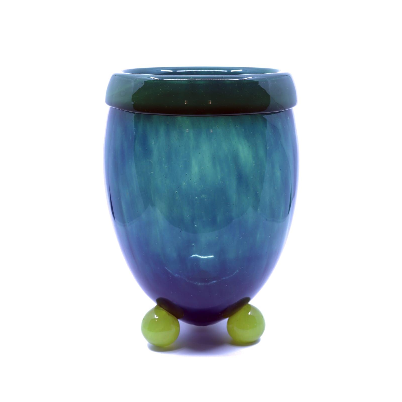 Charles Schneider Art Deco glass vase France, 1925