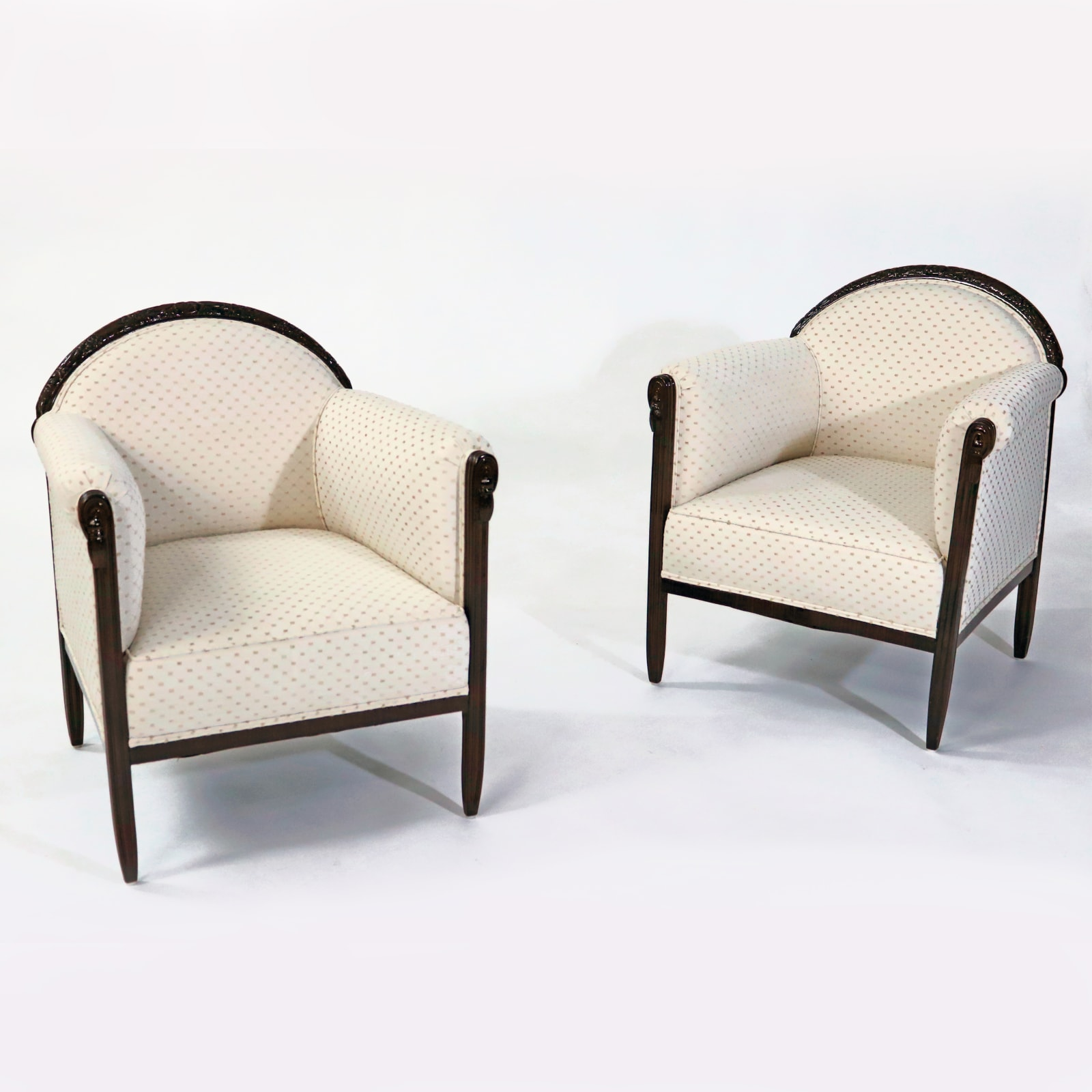Art Deco Chairs, France, 1930