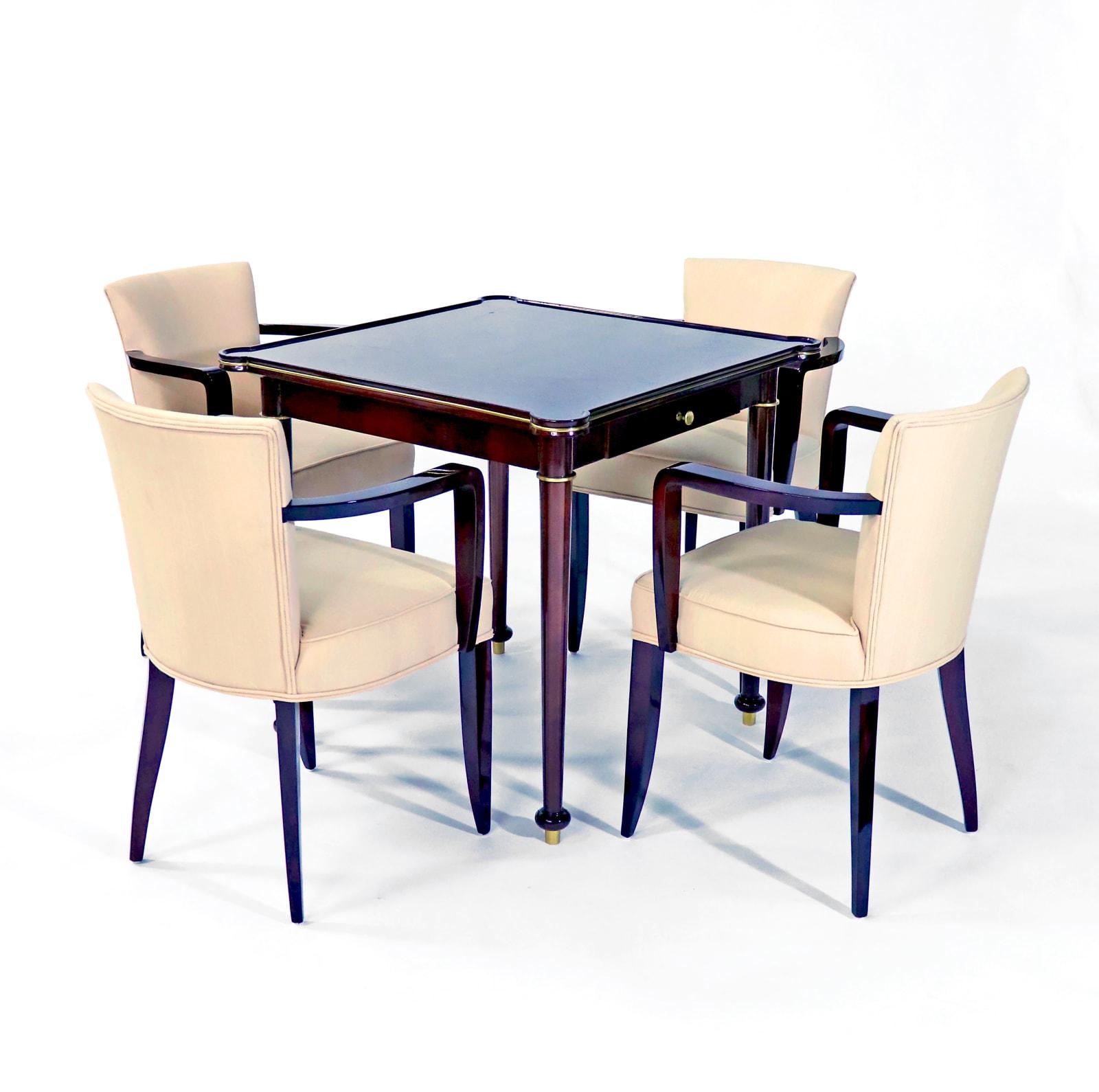 Game table Jules Lelelu France, 1945