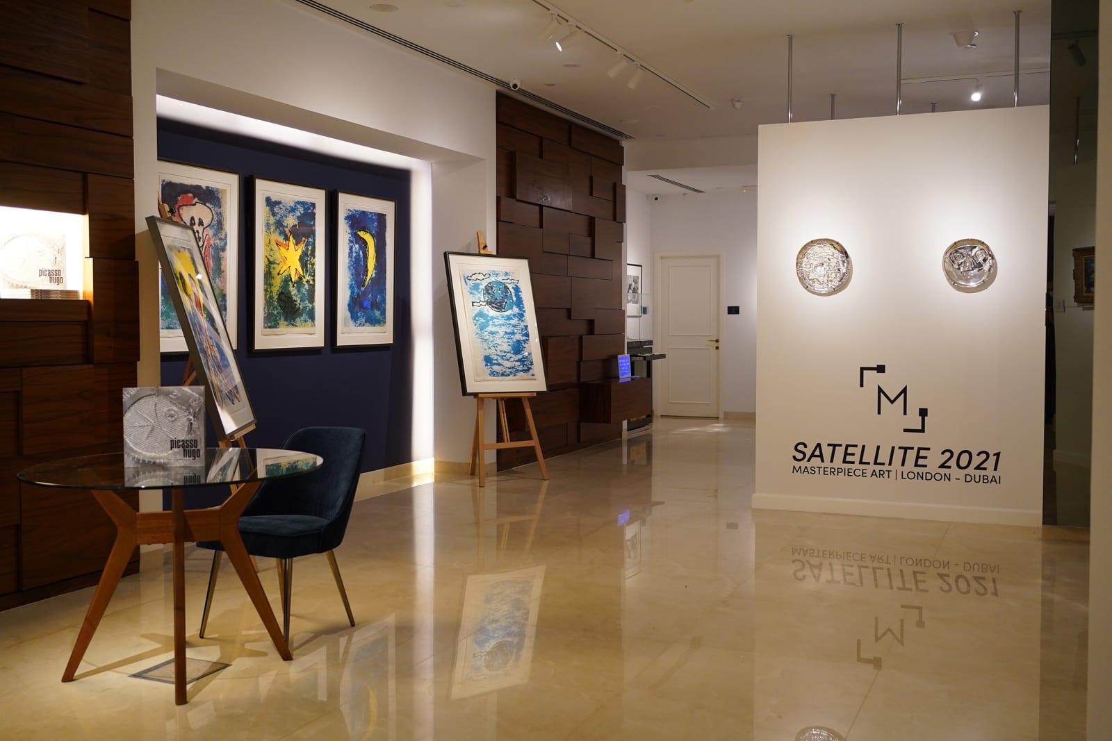 Installation Shot Satellite 2021 Masterpiece Art l London-Dubai