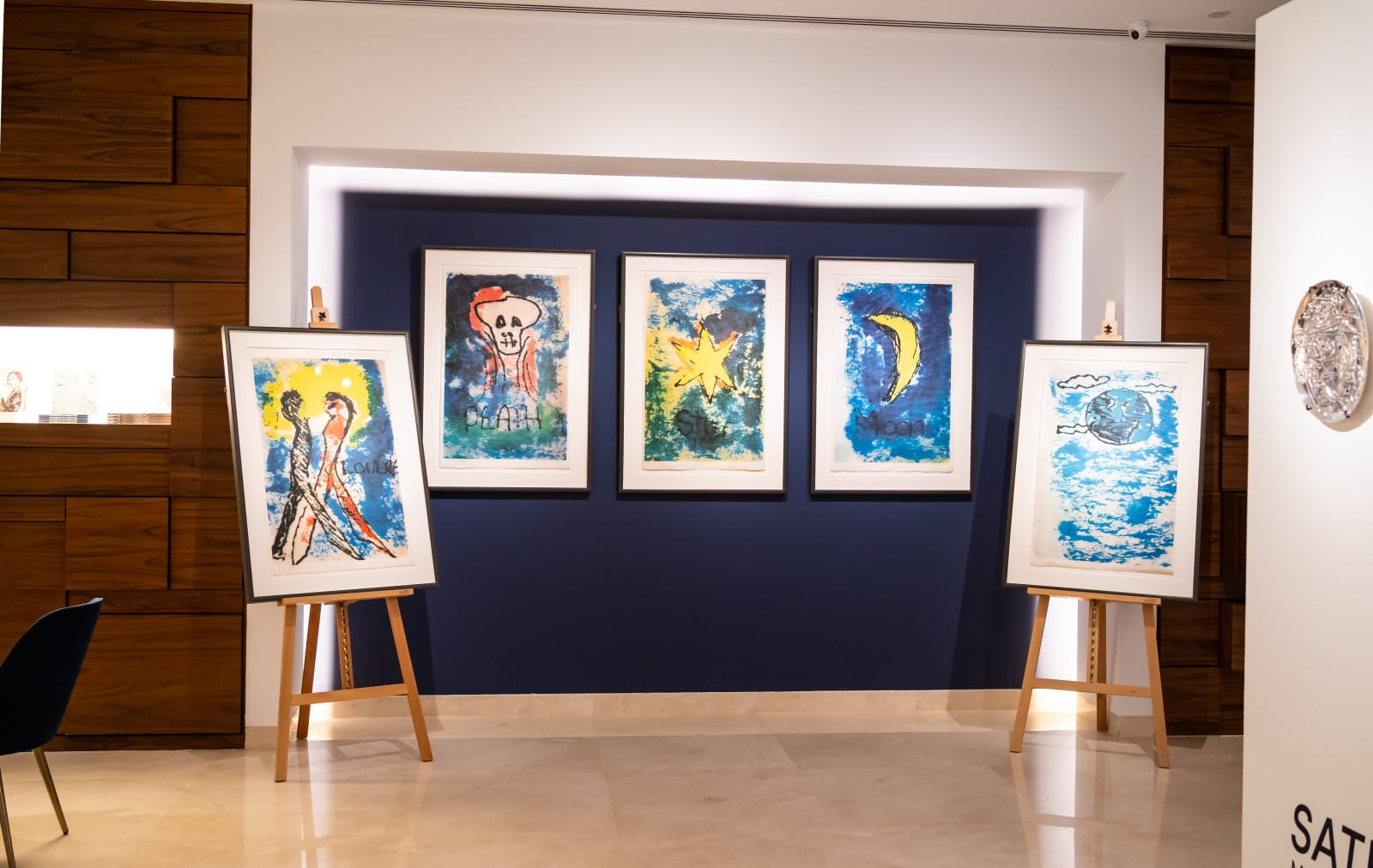 DAVID BOWIE (British, 1947 – 2016) Arcane Series | Lovers, Death, Star, Moon, Earth 1975 hand-pulled silkscreen prints on Japanese paper 86.5 x 58.5 cm / 34 x 23 in. (each) Edition of 50 signed and dated l.l. 25/50 Bowie Nov 75