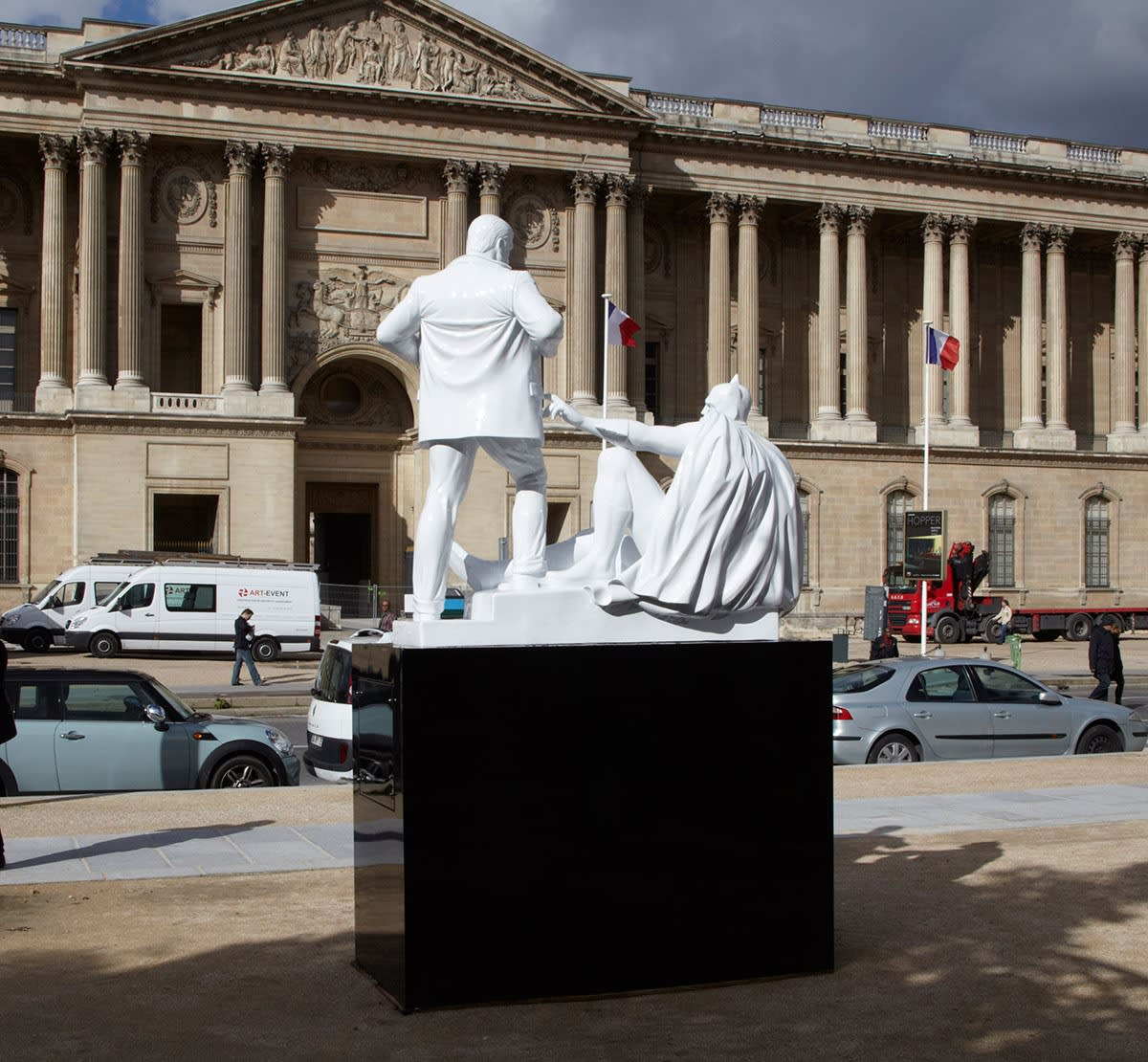 Paris Public Installation next to the Louvre