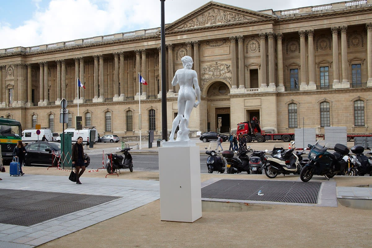 Paris Public Installation next to the Louvre