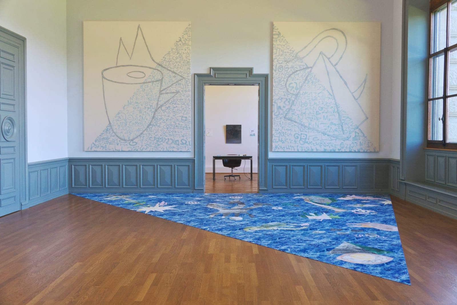 "Installation view ""CORECON"", ars viva 2019, Kunstmuseum Bern, CH"