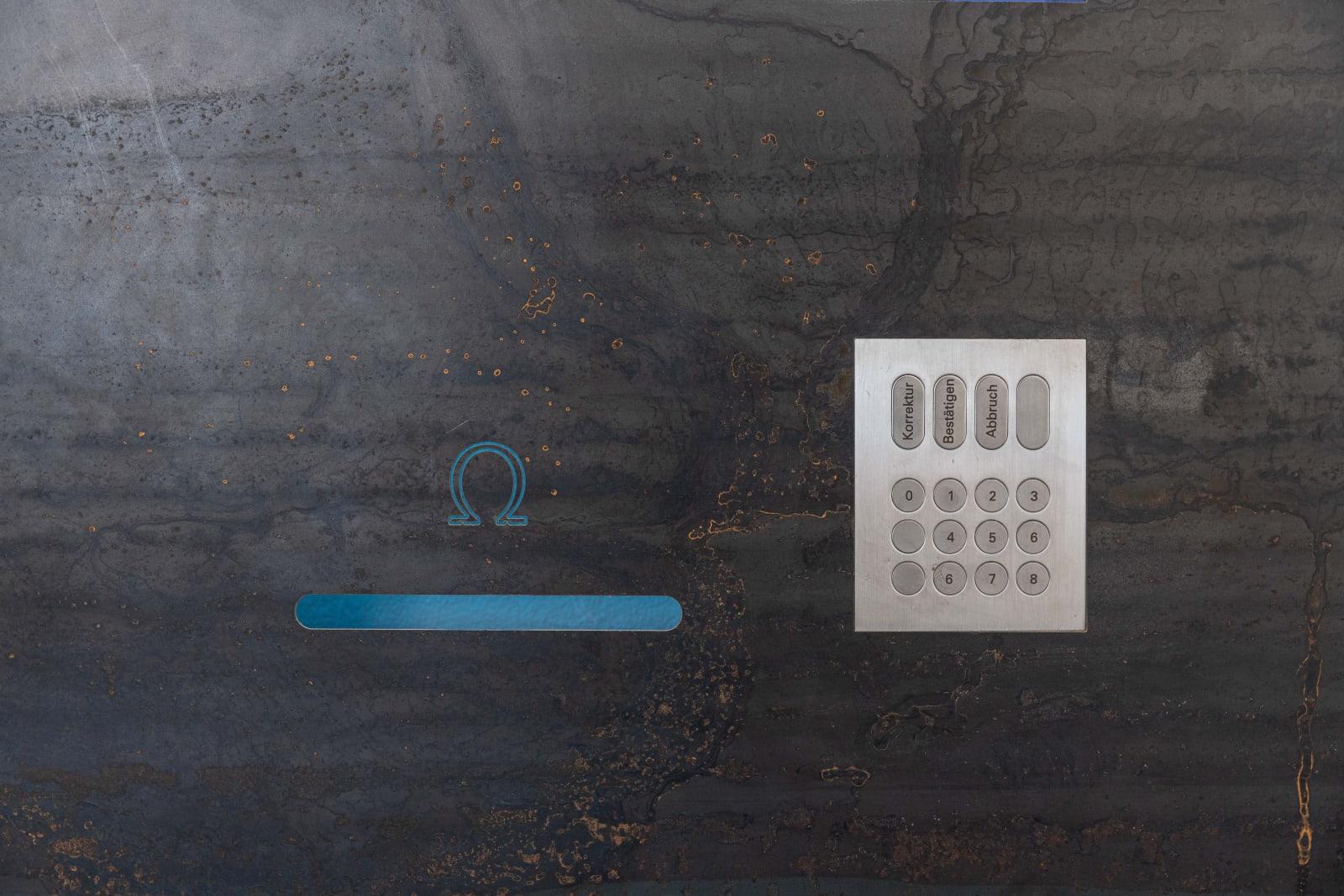 Niko Abramidis &NE, Cryptic Machine Prototype A (Detail), 2018 | Photo: Dirk Tacke