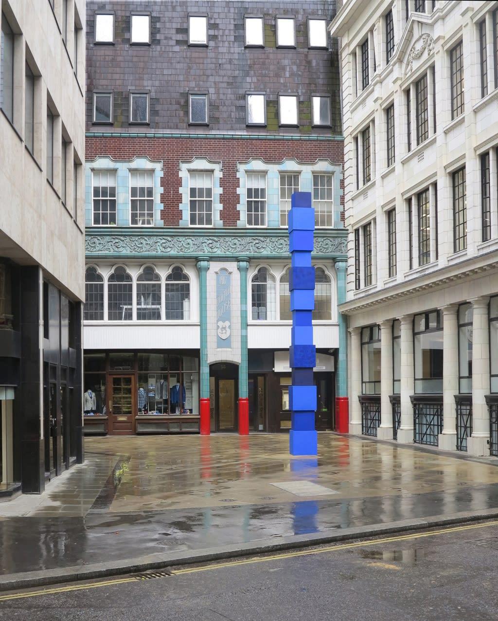 Sculpture in the City, London (2016) Photo: Jürgen Partenheimer