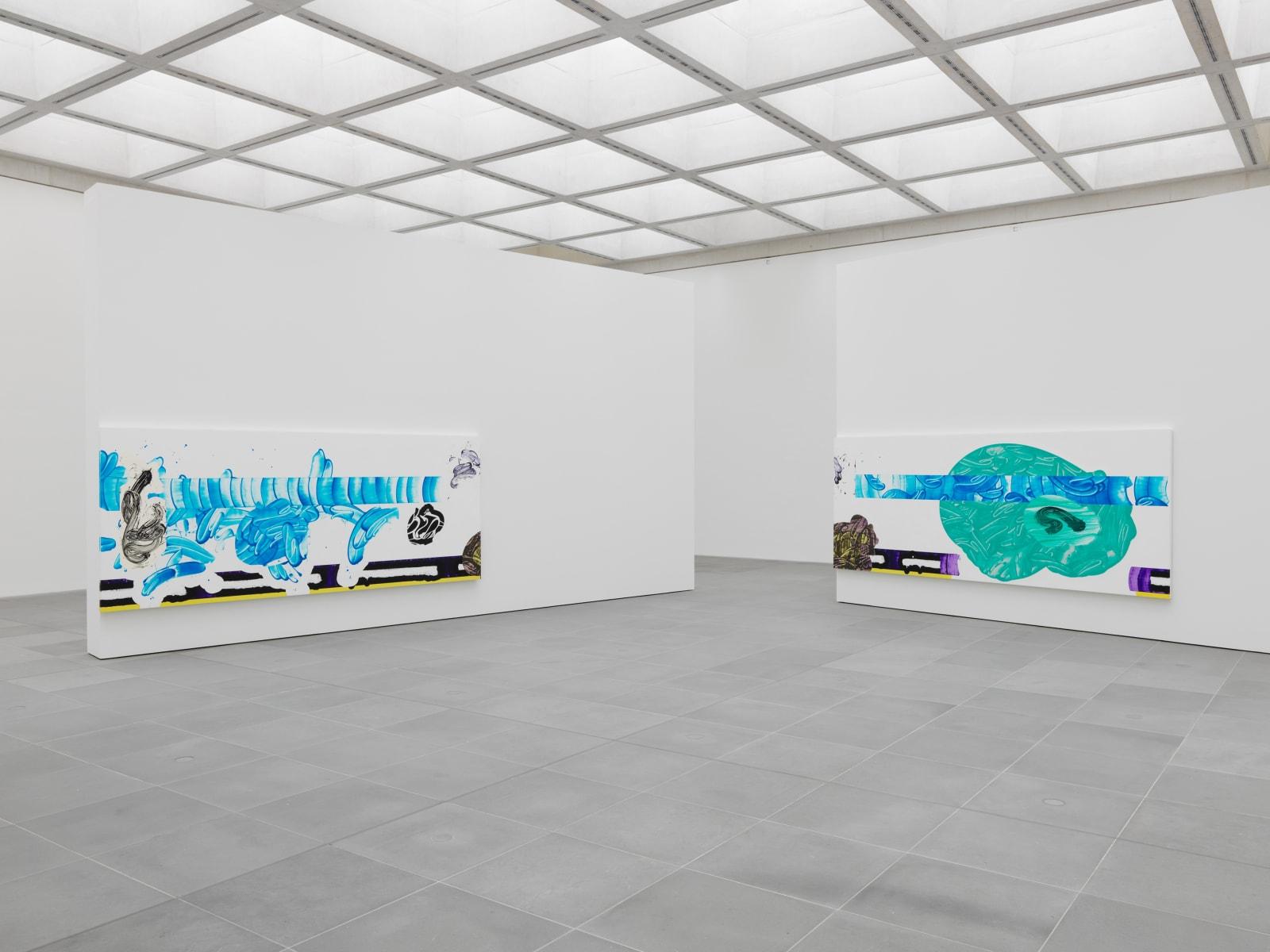 Ausstellungsansicht Vice and Reflection #2, Neues Museum Nürnberg, 2019, Courtesy of Häusler Contemporary   Photo: NMN (Annette Kadisch)