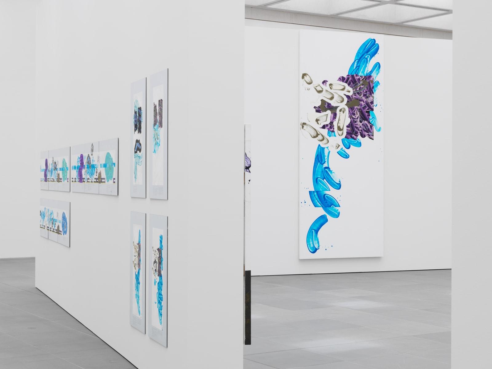 Ausstellungsansicht Vice and Reflection #2, Neues Museum Nürnberg, 2019, Courtesy of Häusler Contemporary | Photo: NMN (Annette Kadisch)