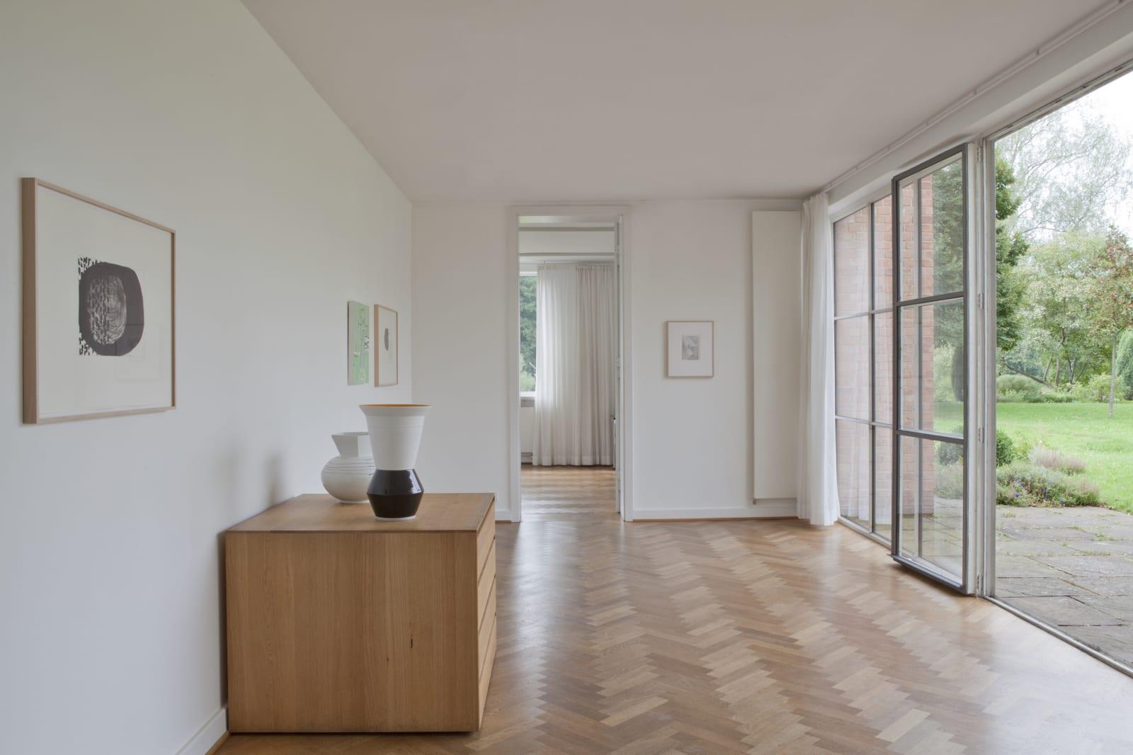 Installation view, Lemke, Mies van der Rohe Haus, Berlin (2011) | Photo: Benedikt Partenheimer
