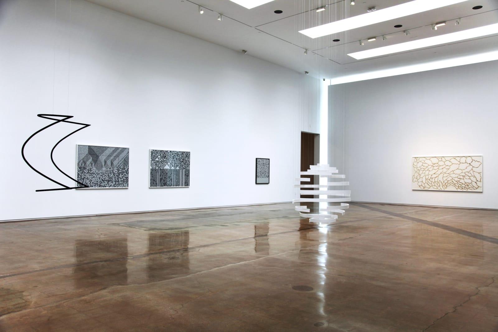 Installation View, Cartography of Control, Kohn Gallery, Los Angeles (2015) | Photo: Studio Troika