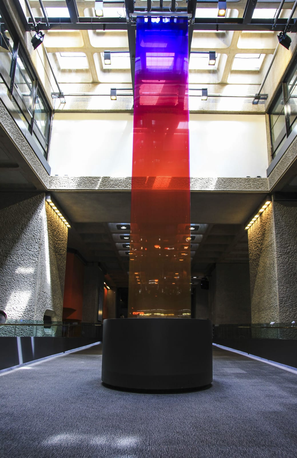 Installation View Borrowed Light (2018), Barbican Center, London (2018-2019) | Photo: Studio Troika