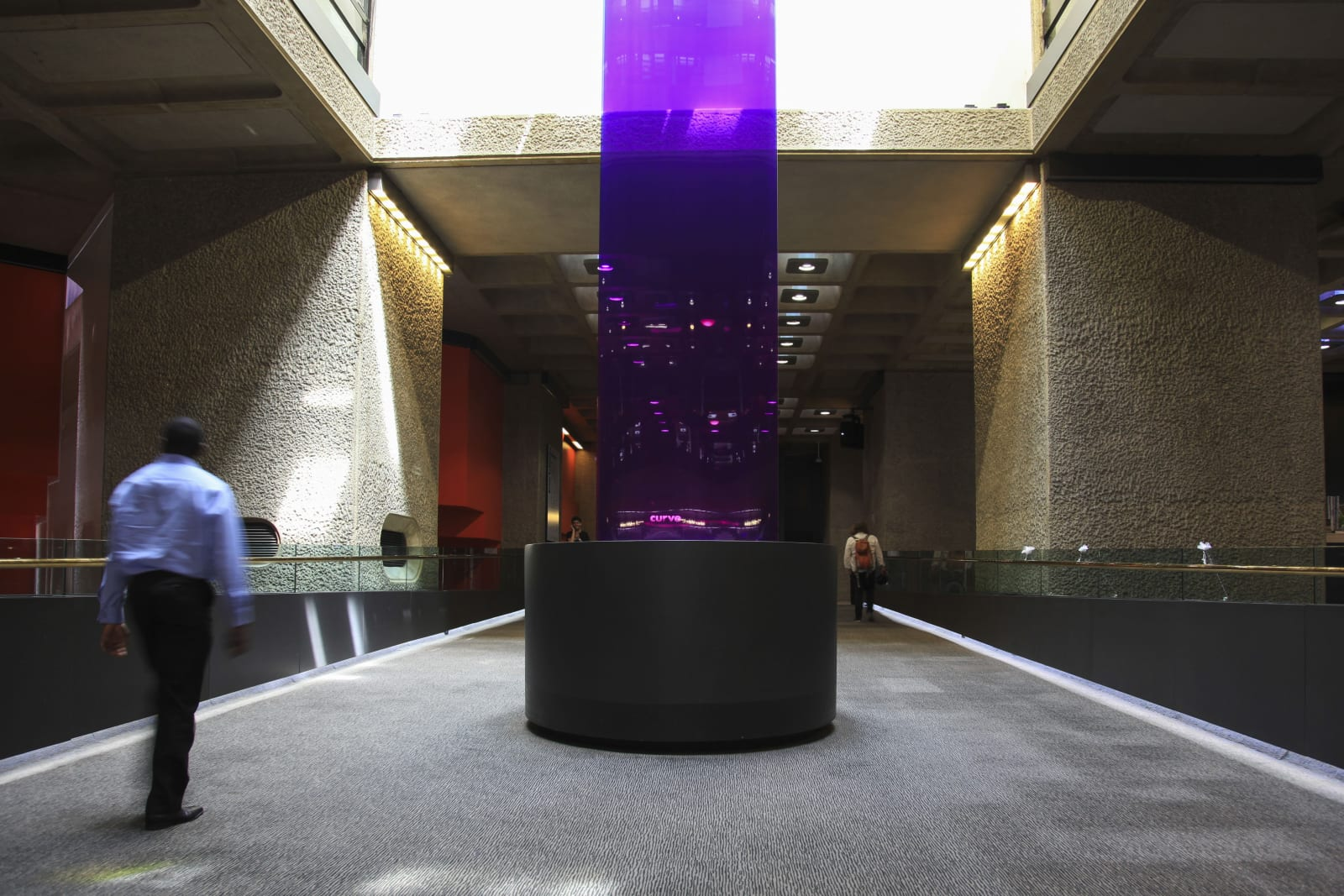 Installation View Borrowed Light (2018), Barbican Center, London (2018-2019)   Photo: Studio Troika