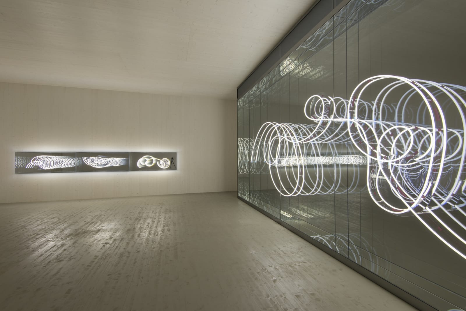 Installation view Infinity and Beyond Austrian Pavilion, 57th Venice Biennale (2017)