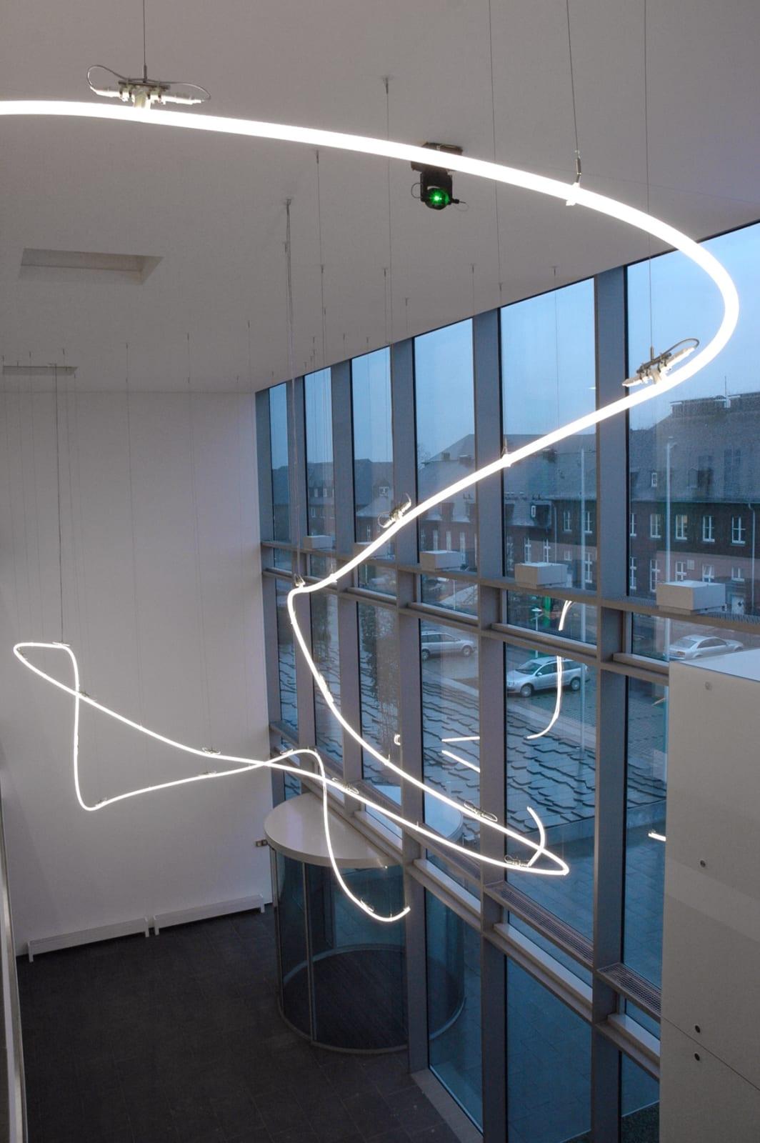Permanent Installation In vivo - In vitro (2006), Max-Planck-Institute, Münster (2006)   Photo: Steffan Sturm