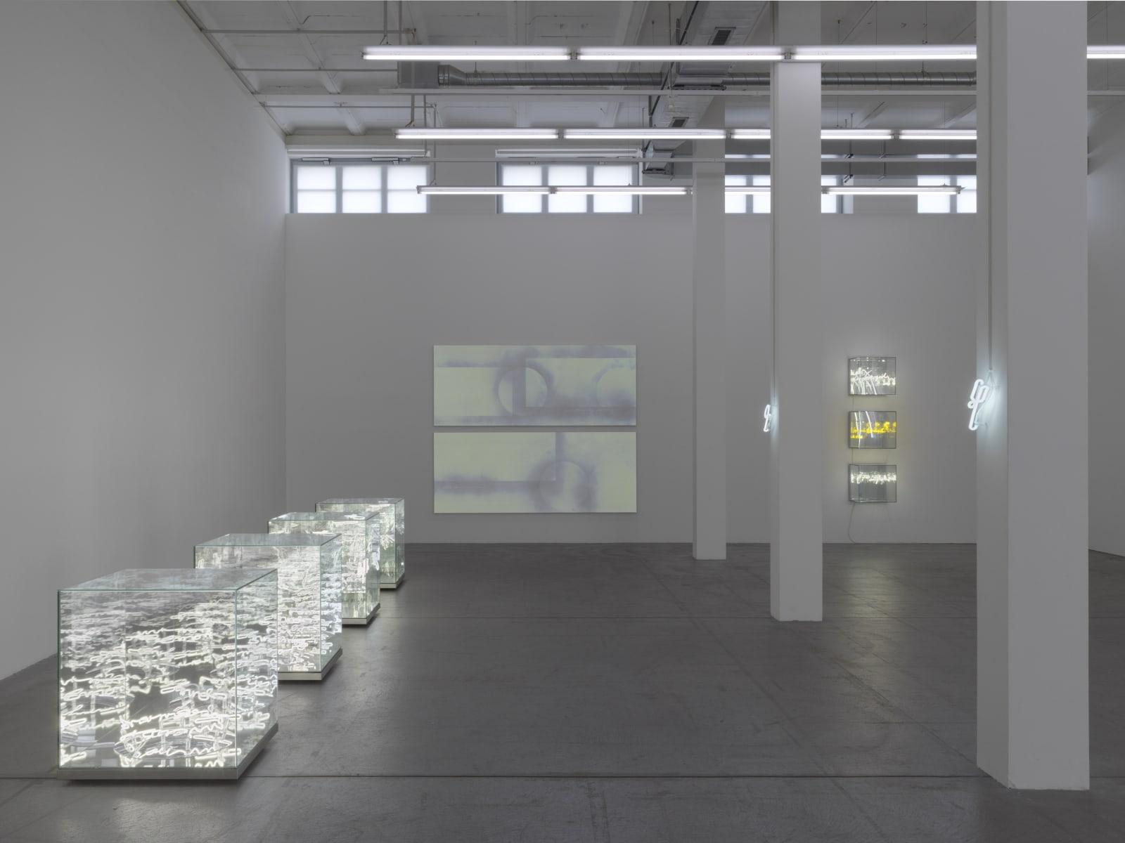 Installation view Lost under the Surface, Haus Konstruktiv, Zurich (2020) | Photo: Stefan Altenburger