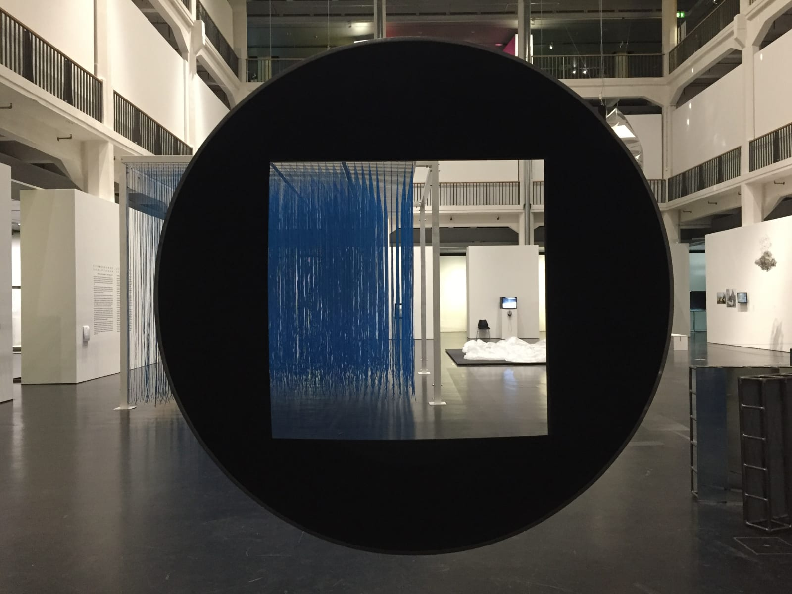 Installation view Negative Space. Trajectories of Sculpture, ZKM Center for Art and Media Karlsruhe (2019) | Photo: Studio Troika