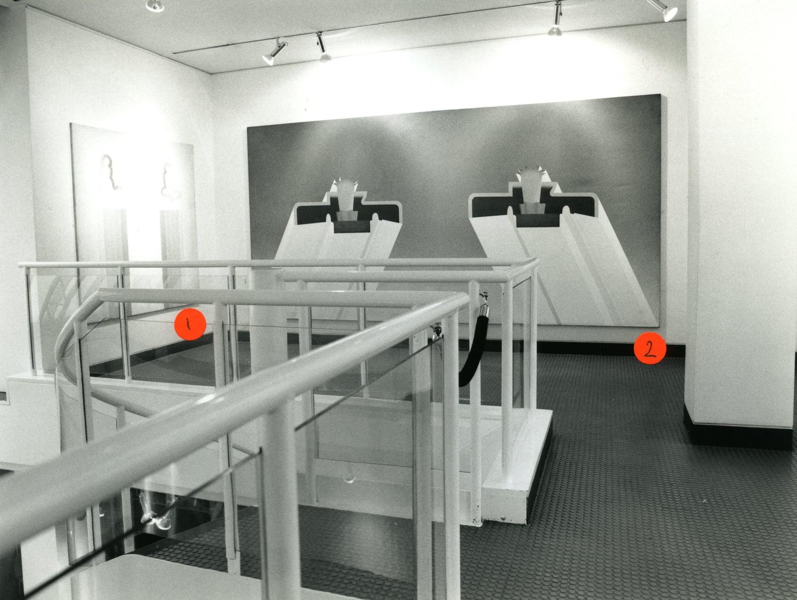 ANTONY DONALDSON Installation View