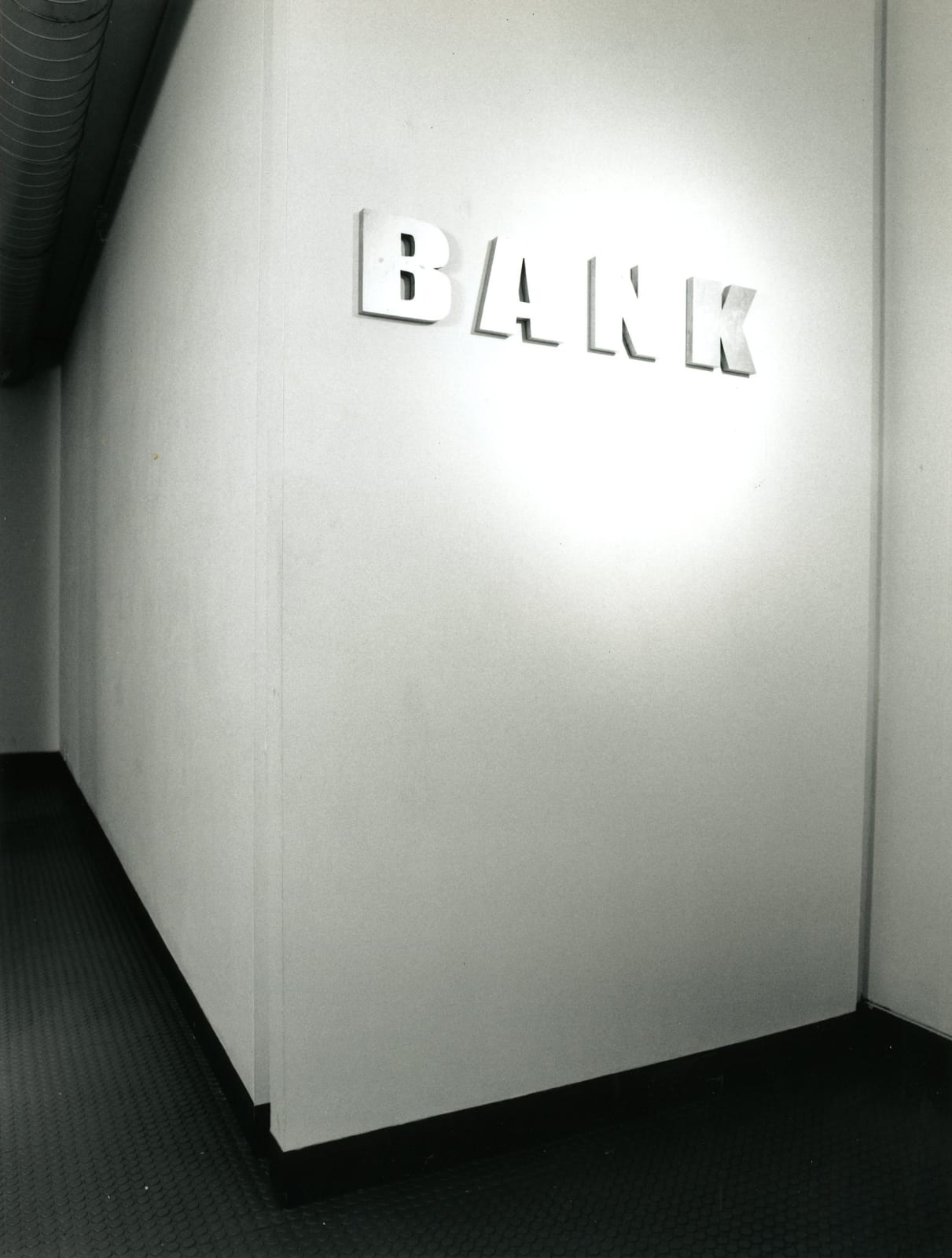 BANK Installation View