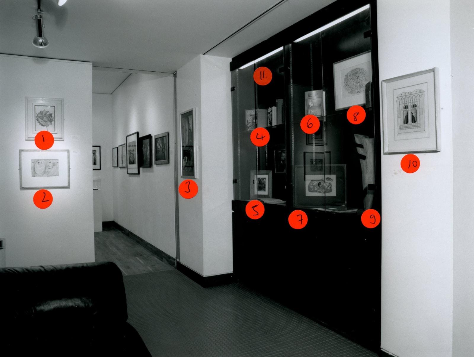 SURREALISM IN BRITAIN Installation View