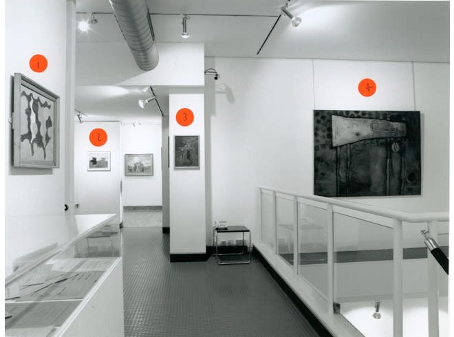 E. L. T. MESSENS Installation View