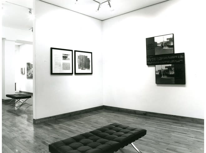 LAND, BODY AND NARRATIVE ART Installation View