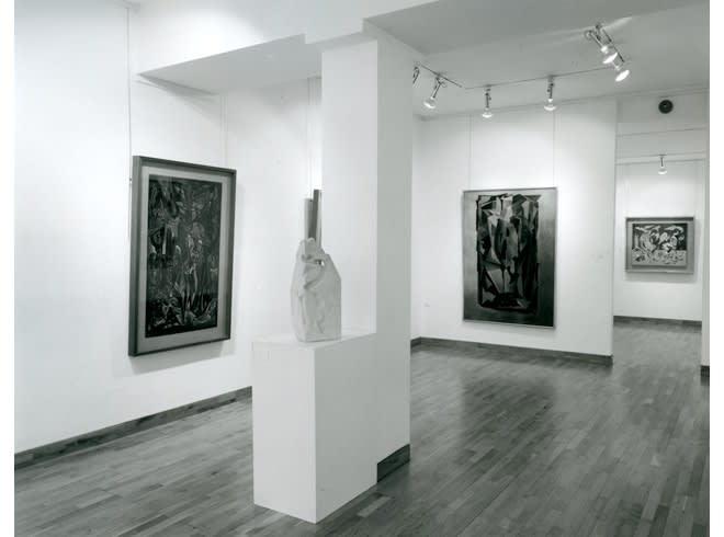 MERLYN EVANS Installation View