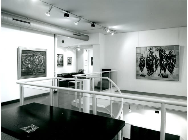MERLYN EVANS Installation View