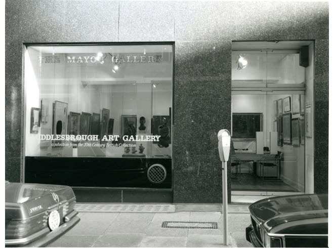 MIDDLESBROUGH ART GALLERY Installation View