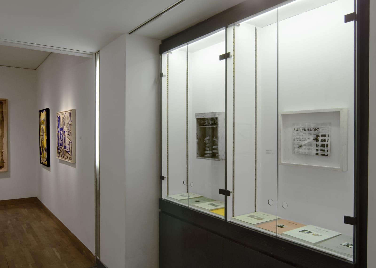 HERBERT ZANGS Installation view