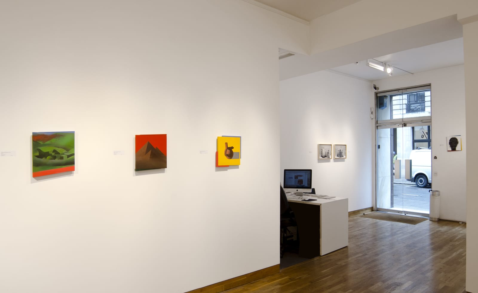 ANTONY DONALDSON & JOE GOODE Installation View