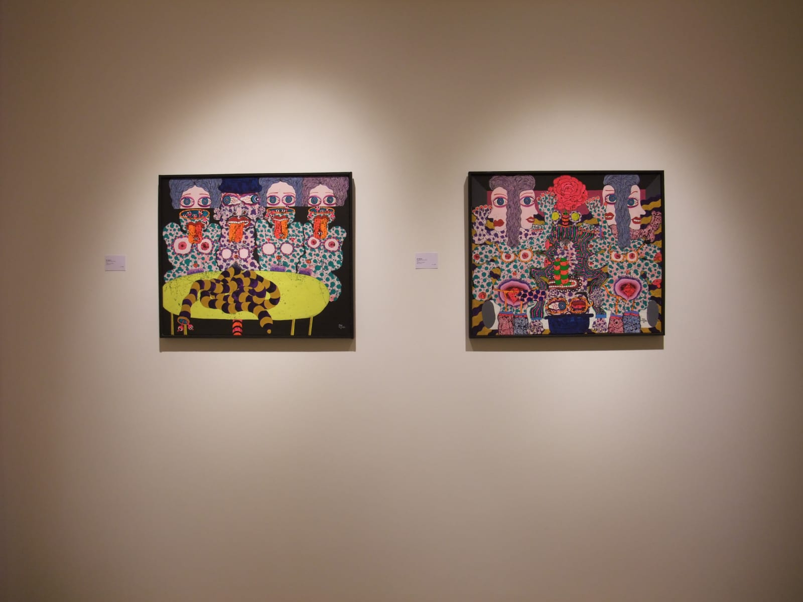 ARTISTS FROM THE 60'S Installation View
