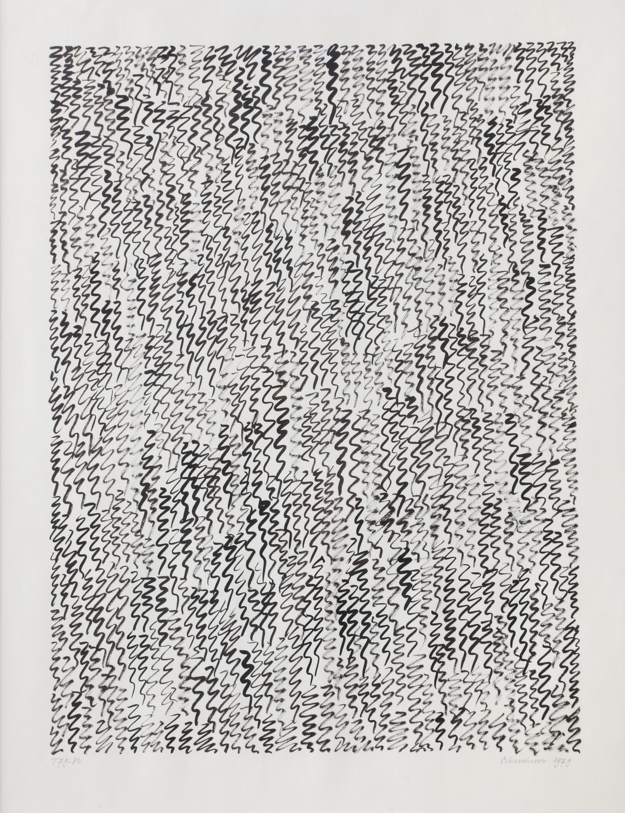 JAN SCHOONHOVEN, T 79-82, 1979