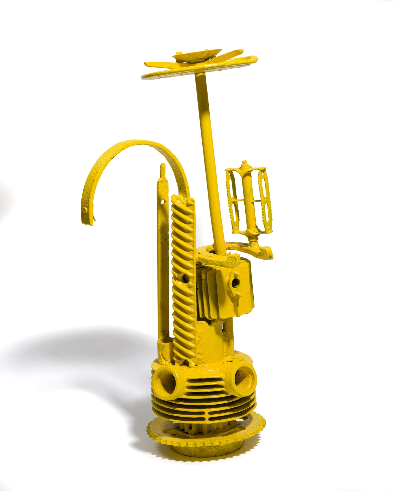 STANO FILKO, Model of Observation Tower - Yellow, 1966 - 1967