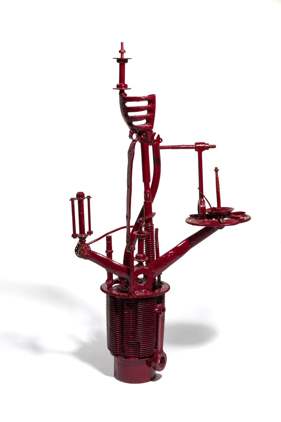 STANO FILKO, Model of Observation Tower - Red, 1966 - 1967